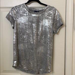 Sliver Shiny Shirt